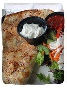Quesadilla And Salad Duvet Cover