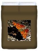 Question Mark Butterfly Duvet Cover