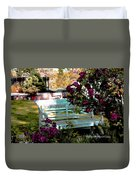 Quiet And At Peace Duvet Cover