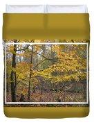 Quiet Autumn Morning Duvet Cover