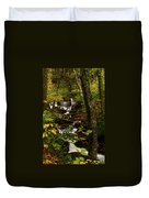 Quiet Autumn Stream Duvet Cover