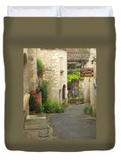Quiet Lane In St Cirq I France Duvet Cover