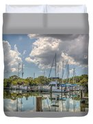 Quiet Marina Duvet Cover