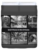 Quiet New Orleans Duvet Cover