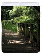 Quiet Path Bridge Duvet Cover