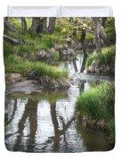 Quiet Stream Duvet Cover
