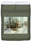 Quiet Winter Afternoon Duvet Cover