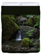 Quinault Washington Rain Forest Duvet Cover