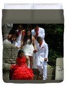People Series - Quinceanera Ceremony  Duvet Cover