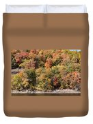 Quinnipiac River Color Duvet Cover