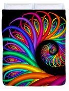 Quite In Different Colors -8- Duvet Cover