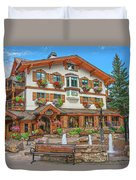 Quite Possibly The Most Expensive And Luxurious Ski Resort In The World, Vail, Colorado  Duvet Cover