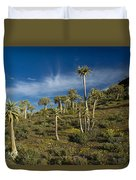 Quiver Tree Forest Duvet Cover
