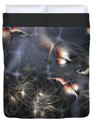 Quixotic Cerebrations Duvet Cover