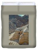 Qumran Cave Duvet Cover