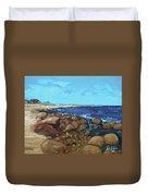 Quonocontaug West Beach Duvet Cover