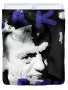 R I P Mark E Smith  Duvet Cover