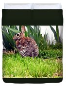 Rabbit As A Painting Duvet Cover