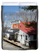 Rabbit Hash Store-front View Angle Duvet Cover