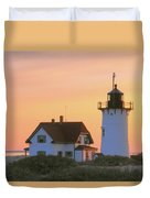 Race Point Light Duvet Cover by Roupen  Baker