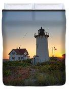 Race Point Lighthouse 2015 Duvet Cover