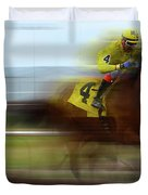 Racetrack Dreams 1 Duvet Cover