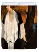 Rachel Strong By Leon Bakst 1924 Duvet Cover