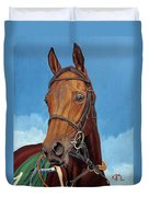 Radamez - Arabian Race Horse Duvet Cover