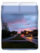 Radcliff Kentucky Morning Duvet Cover