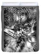 Radiance In Monochrome  Duvet Cover