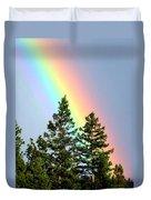 Radiant Rainbow Duvet Cover