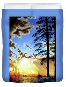 Radiant Reflection Duvet Cover