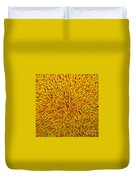 Radiation Yellow  Duvet Cover