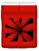 Radical Red Duvet Cover