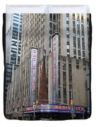 Radio City Music Hall New York City Duvet Cover