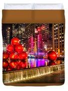 Radio City Music Hall - New York City Usa Duvet Cover