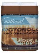 Radio Communications Duvet Cover