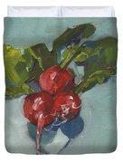 Radishes Duvet Cover