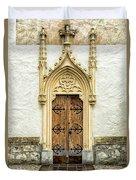 Radovljica Church Door Duvet Cover