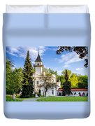 Radziejowice Castle Duvet Cover