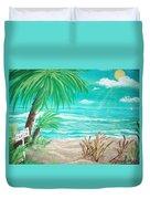 Raelee's Beach Duvet Cover