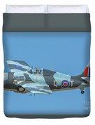 Raf Wildcat Fm-2 Duvet Cover