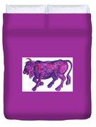 Raging Bull Taurus Duvet Cover