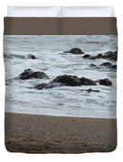 Raging Sea Duvet Cover