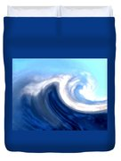 Raging Sea Duvet Cover