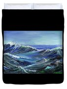 Raging Seas Duvet Cover