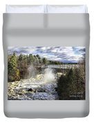 Raging Water Duvet Cover