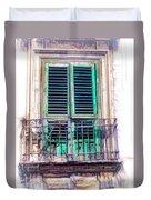 Ragusa Window Duvet Cover