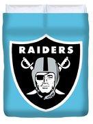 Raiders  Duvet Cover