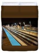 Rail Perspective Duvet Cover